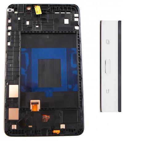 Pantalla Tactil + LCD Display con Marco Original Samsung Galaxy Tab 4 T230 - Blanco