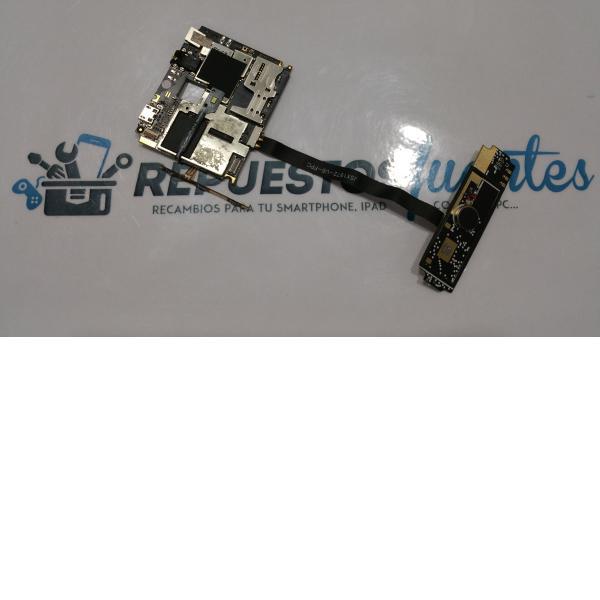 Placa base original + flex de conexion y modulo de antena SMA-DPA-HE3 - Recuperada