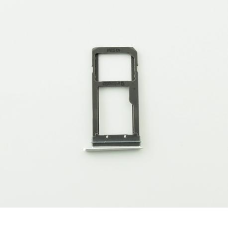 Bandeja de Tarjeta SIM y MicroSD para Samsung Galaxy S7 Edge SM-G935F - Blanca