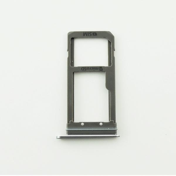 Bandeja de Tarjeta SIM y MicroSD para Samsung Galaxy S7 Edge SM-G935F - Negra