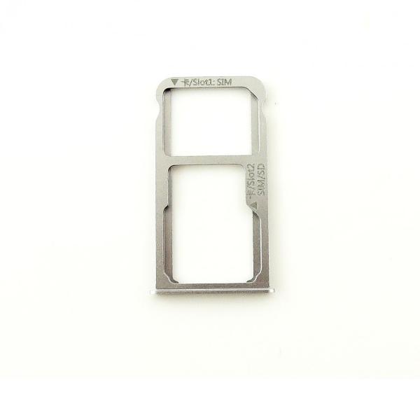 Bandeja de Tarjeta SIM y MicroSD para Huawei Mate 8 - Blanca