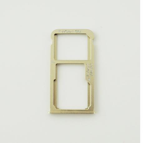 Bandeja de Tarjeta Sim + Micro SD para Huawei Mate 8 - Oro