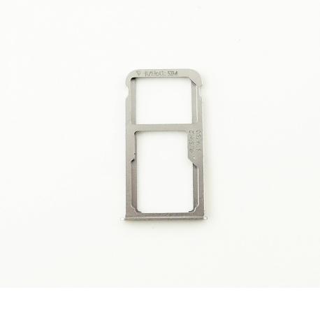 Bandeja de Tarjeta SIM y MicroSD para Huawei Mate 8 - Negra