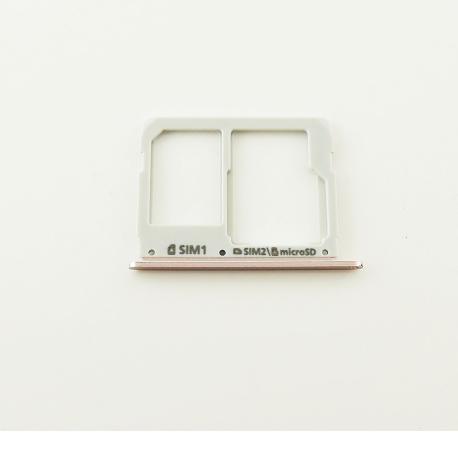 Bandeja de Tarjeta SIM y MicroSD para Samsung A510F, A310F - Rosa