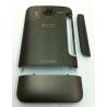TAPA CARCASA TRASERA NEGRA HTC DESIRE HD G10