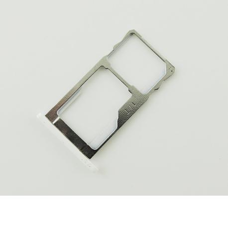 Bandeja de Tarjeta para Meizu M2 Note - Blanco