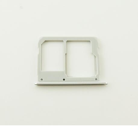 Bandeja de Tarjeta SIM y MicroSD para Samsung A510F, A310F - Blanco