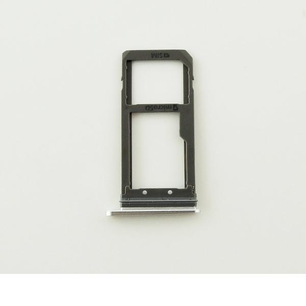 Bandeja de Tarjeta Sim y MicroSD Samsung Galaxy S7 G930F - Blanco
