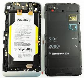 Carcasa Intermedia + Bateria + Sensor de Proximidad+Jack de Audio Original para Blackberry Z30