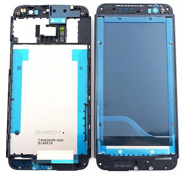 Carcasa Marco Frontal para HTC One E8 - Negra