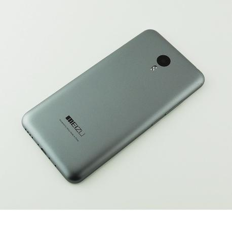 Carcasa Tapa Trasera de Bateria para Meizu M2 Note - Gris