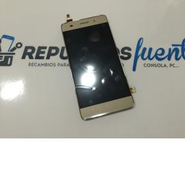 Pantalla LCD Display + Tactil con Marco para Huawei Honor 4C - Oro