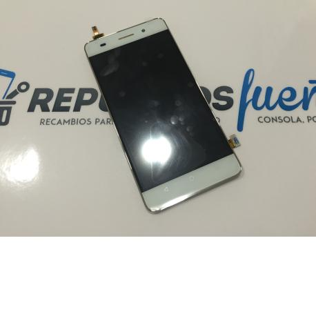 Pantalla LCD Display + Tactil con Marco para Huawei Honor 4C - Blanco
