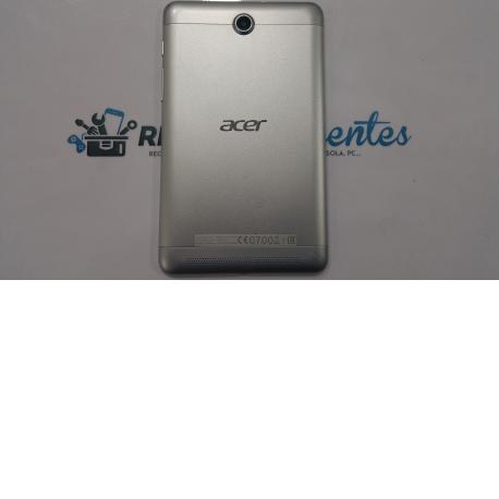 Tapa trasera Acer Iconia A1-713HD plata - Recuperada