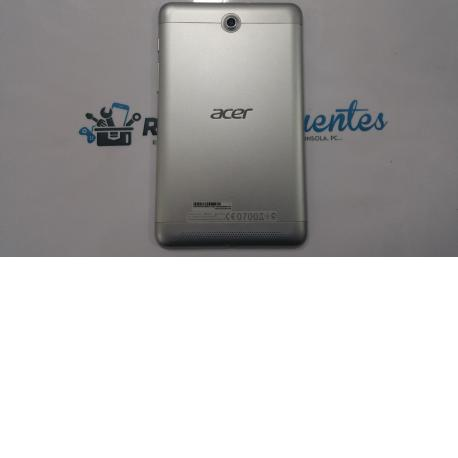 Tapa trasera Acer Iconia A1-713 plata - Recuperada