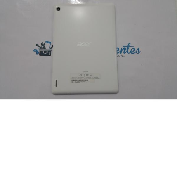 Tapa trasera Acer Iconia Tab A1-810, A1-811 BLANCA - Recuperada