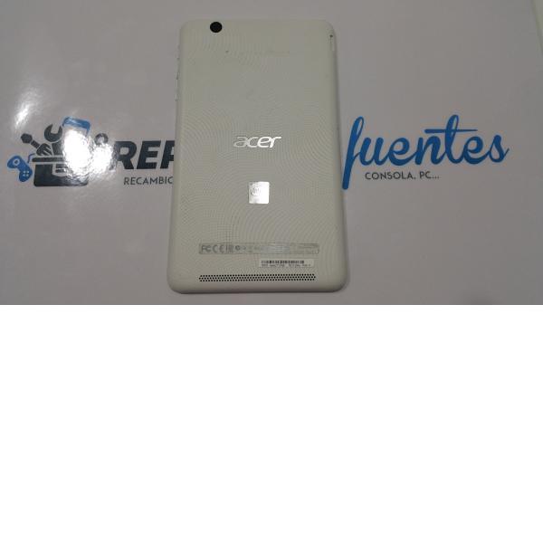 Tapa trasera Acer Iconia one 7 B1-750 Model: A1408 blanca - Recuperada