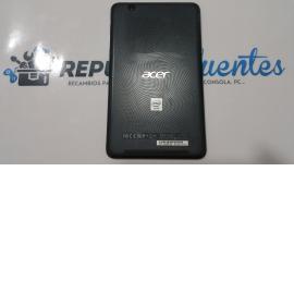 Tapa trasera Acer Iconia one 7 B1-750 Model: A1408 negra - Recuperada