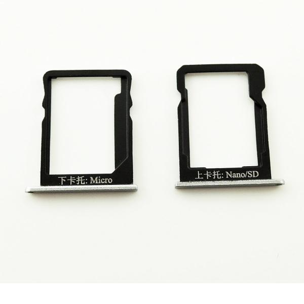 Bandeja de Tarjeta SIM y Micro SD para Huawei Honor 6 Plus - Blanca