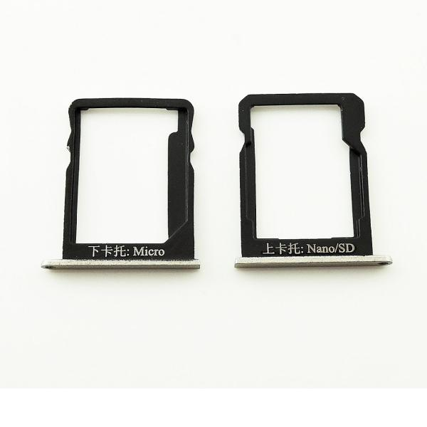 Bandeja de Tarjeta SIM y Micro SD para Huawei Honor 6 Plus - Oro
