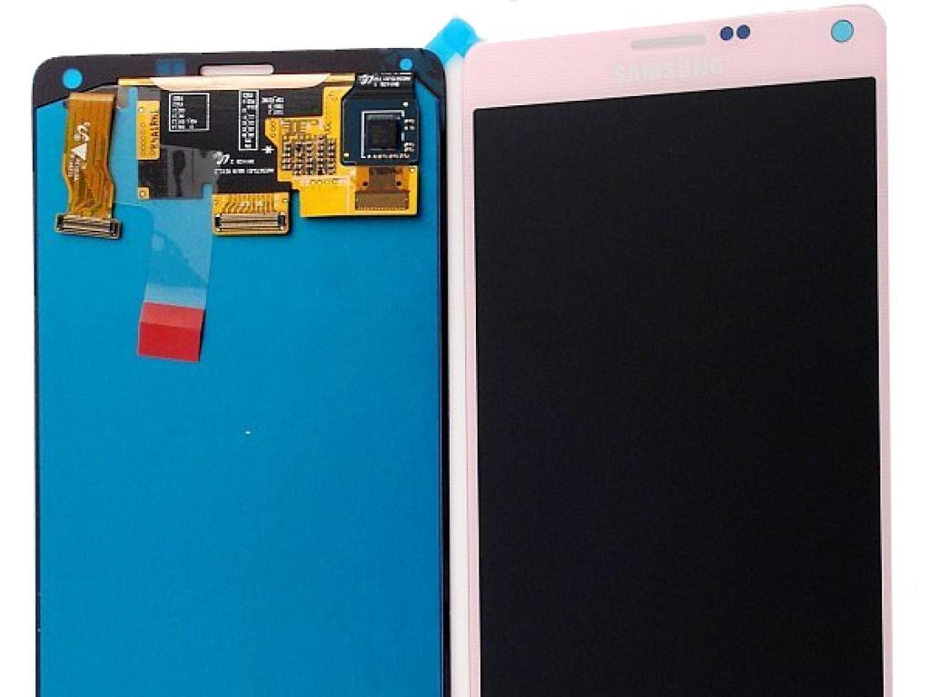 1483718bbd8fc Pantalla Lcd + Tactil Original para Samsung Galaxy Note 4 SM-N910 - Rosa