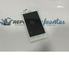 Pantalla LCD + Tactil Con Marco Original Huawei G6-L11 ( Versión 4G) Blanca - Recuperada