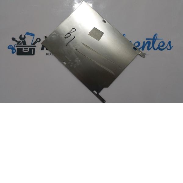 Chapa trasera de soporte de la bateria Yarvik Tab07-485 - Recuperada