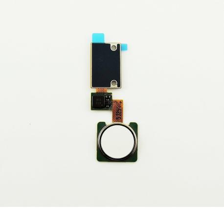 Flex Sensor de Huella Boton Home para para LG H960 V10 - Blanco