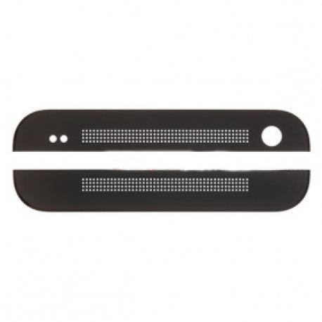 Embellecedor Superior e Inferior para HTC One M8 - Negra