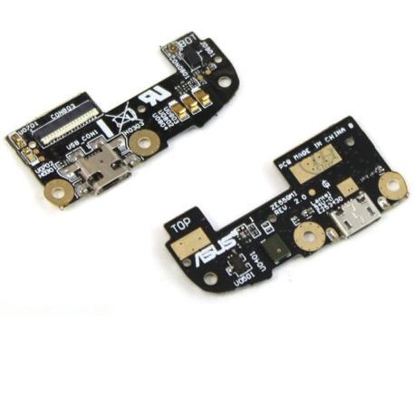 """Modulo Conector de Carga Micro USB para Asus Zenfone 2 de 5.5 """" ZE551ML / ZE550ML / ZE550CL / Z00AD"""