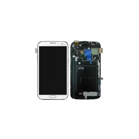 Pantalla tactil + lcd Samsung Note 2 N7100 Ttan blanca