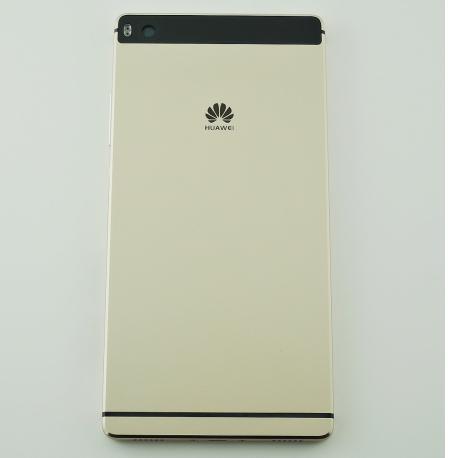 Carcasa Tapa Trasera Batería para Huawei P8 - Oro / Negro