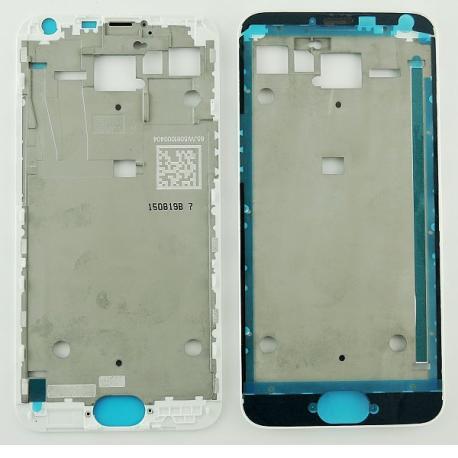 Carcasa Frontal de LCD para Meizu MX5 - Blanca