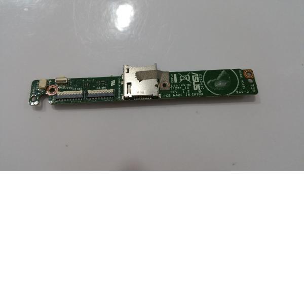 Modulo de conexion + conector de tarjeta SD Asus EEE Transformer Prime TF201 - Recuperado