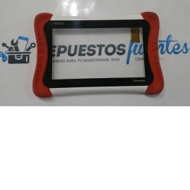 Pantalla tactil con marco original Clempad my first Plus 2013 - Recuperada