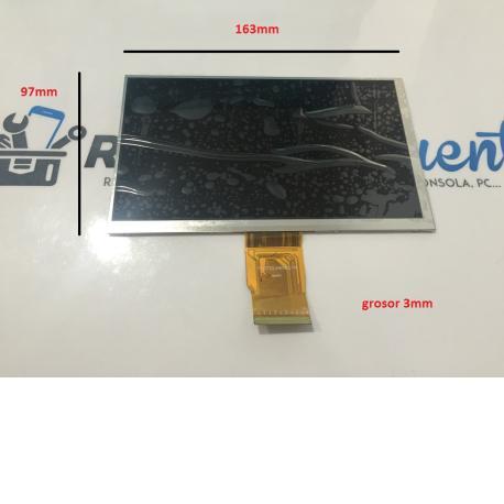 Pantalla LCD Display Hyundai AT7 , Wolder mitab Boston y mas - Recuperada
