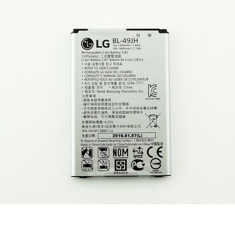 Bateria BL-49JH Original para LG K120e K4 LTE 4G de 1940mAH