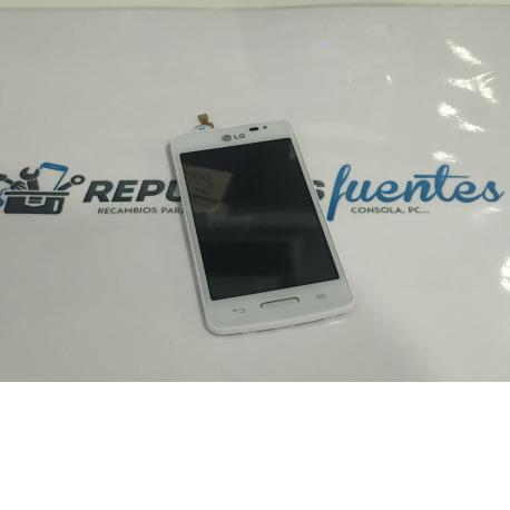 PANTALLA TACTIL + LCD DISPLAY CON MARCO PARA LG D210 L50 - BLANCA