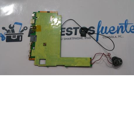 PLACA BASE ORIGINAL ZOOM HD QUAL CORE MID9024 - RECUPERADA