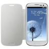 Funda LIBRO Cuero blanca Samsung Galaxy s3 i9300