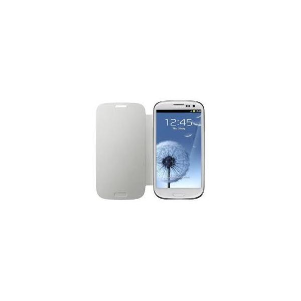 Funda libro para samsung galaxy s3 mini i8190 blanca repuestos fuentes - Fundas para s3 mini ...