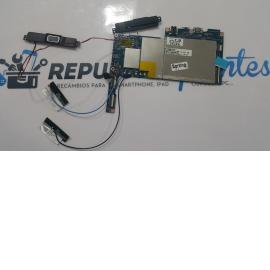 PLACA BASE ORIGNAL + ALTAVOCES BUZZER Y CABLES DE ANTENAS HP 10 PLUS 2201 - RECUPERADA