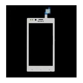 Pantalla tactil cristal Original sony xperia E dual blanca C1505 C1605 C1604