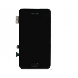 Pantalla completa lcd + tactil con marco original Samsung i9100 Galaxy S2 negra - Desmontaje