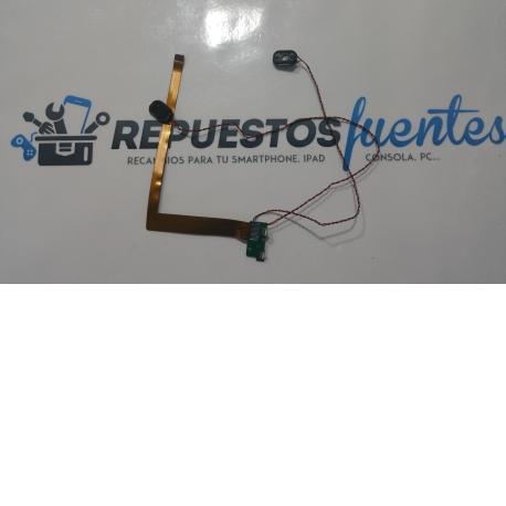 Flex de conexion + altavoces buzzer y botones INTEL MAGALHAES TM105 - Recuperado