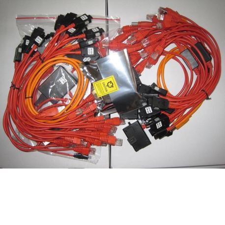 CAJA ORIGINAL Z3X BOX SAMSUNG CON 30 CABLES