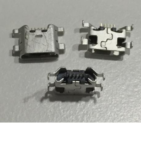 CONECTOR DE CARGA MICRO USB PARA ZTE BLADE APEX 2 ORANGE HI 4G