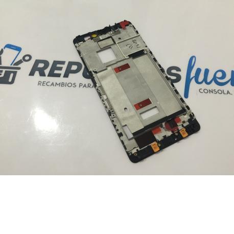 Carcasa Marco Frontal para Huawei Mate S - Negra