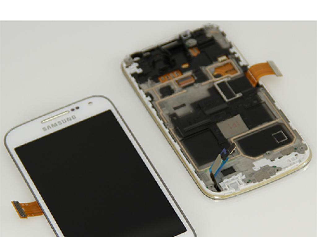 6435817d79e PANTALLA LCD DISPLAY + TACTIL CON MARCO ORIGINAL PARA SAMSUNG GALAXY S4  MINI GT-I9195. Loading zoom