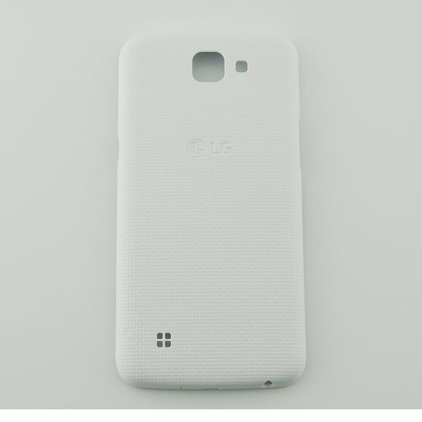 TAPA TRASERA DE BATERIA ORIGINAL PARA LG K120E K4 LTE 4G - BLANCA